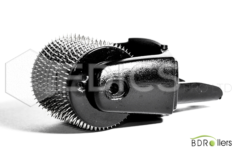 глава за лице за дермаролер titanium all black